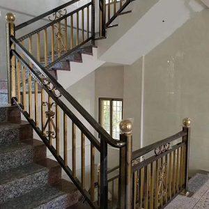 Ra mắt 30 mẫu cầu thang inox mạ màu mới nhất đẹp lạ, cuốn hút