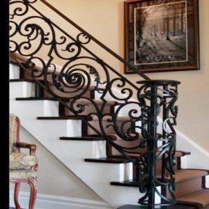 Cầu thang sắt sơn tĩnh điện