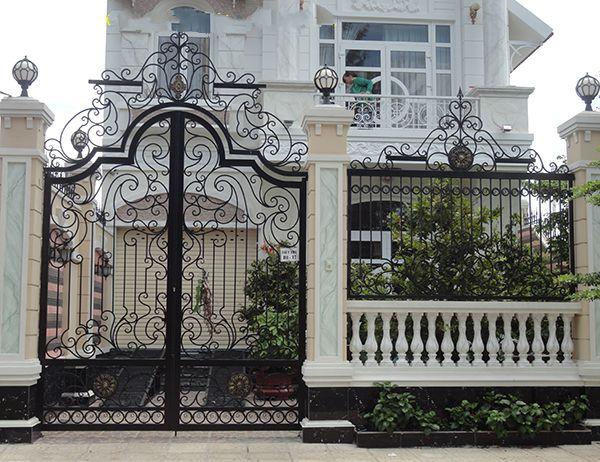 Top 50 mẫu cửa cổng sắt nghệ thuật đẹp lộng lẫy không thể tin nổi