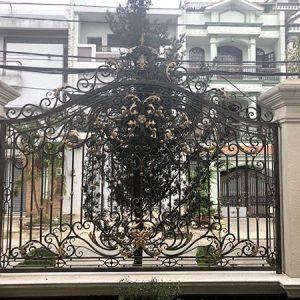 Top 60 mẫu hàng rào sắt nghệ thuật đẹp lạ, độc đáo, ấn tượng