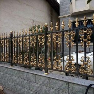Tổng hợp 25 mẫu hàng rào inox mạ màu nghệ thuật đẹp đến khó tin