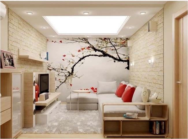 Phòng khách đẹp và nghệ thuật