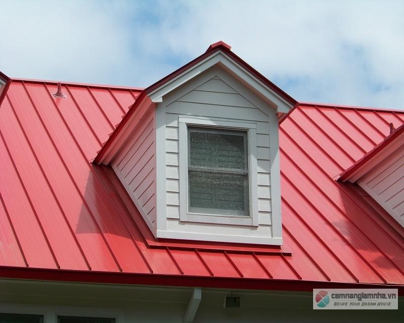 Mái tôn chống nóng - cách nhiệt