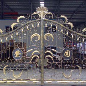 Cổng sắt nghệ thuật M0018