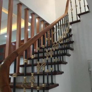 Các mẫu cầu thang sắt đẹp hiện đại