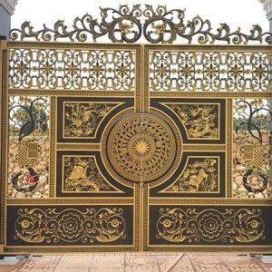 Báo giá cửa cổng, hàng rào, lan can, cầu thang nhôm đúc đẹp giá rẻ