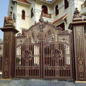 Cách lựa chọn cổng nhôm đúc mang phong cách Châu Âu