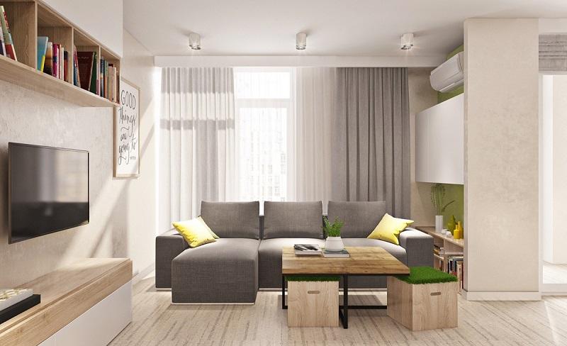 Các mẫu thiết kế nhà nhỏ đẹp xinh đơn giản  (Phần 1)