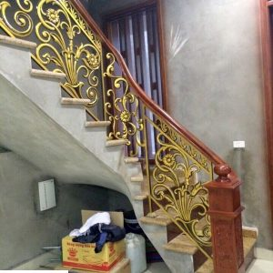 Cầu thang nhôm đúc CT005