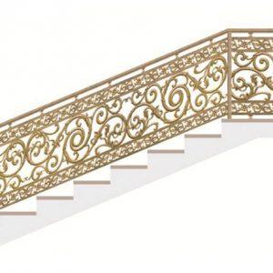 Cầu thang nhôm đúc CT013