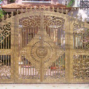 Cổng nhôm đúc CĐ019