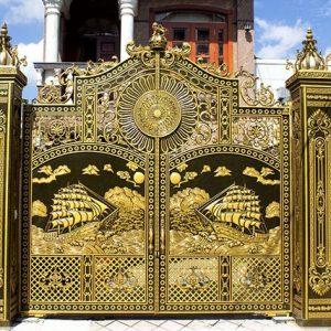 Cổng nhôm đúc là gì? Có bao nhiêu loại cổng nhôm đúc?