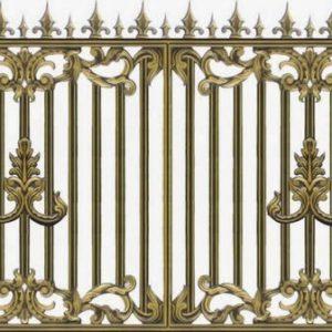 Hàng rào nhôm đúc HR006