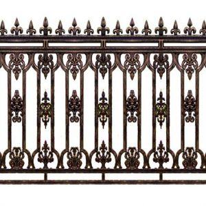 Hàng rào nhôm đúc HR013