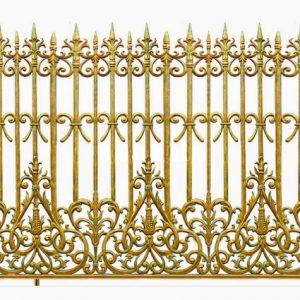 Hàng rào nhôm đúc HR016
