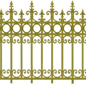 Hàng rào nhôm đúc HR017