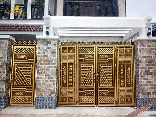 Xem 40 mẫu cổng nhôm đúc thoáng đẹp, hiện đại, cao cấp, mới nhất