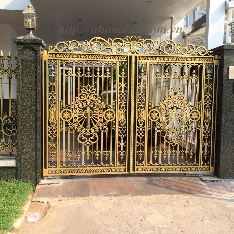 Những mẫu cổng nhà đẹp nhất 2016